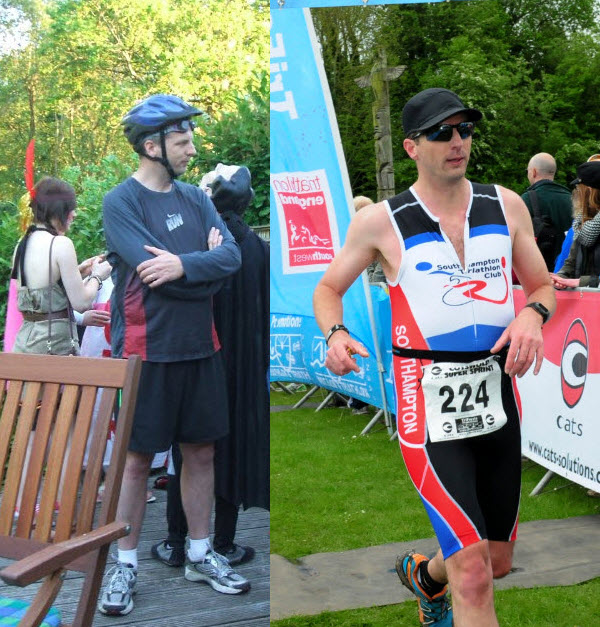 From TriathlonMan to, um, Triathlon Man!