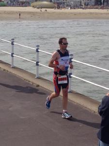 running lap 3